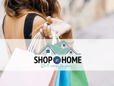 SHOP AT HOME AND ENJOY TREMENDOUS SAVINGS